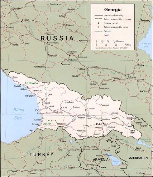 ru georgia map