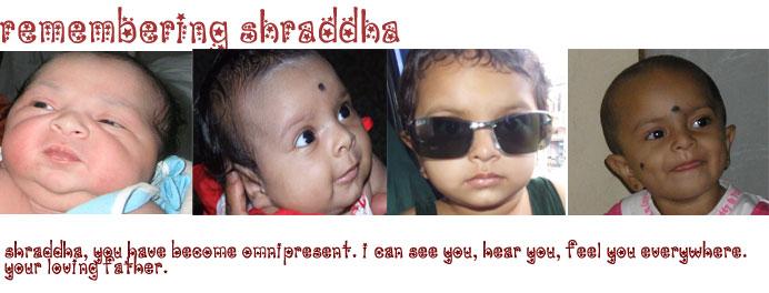 Remembering Shraddha