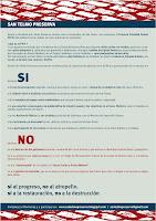 Click en la imagen para agrandar el folleto que explica lo que está ocurriendo con San Telmo.