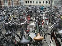 Biciclette alla stazione di Copenhagen, recuperato dal sito di UniAN