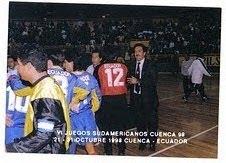 VI JUEGOS ODESUR - CUENCA ECUADOR ´98