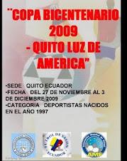 COPA BICENTENARIO 2009