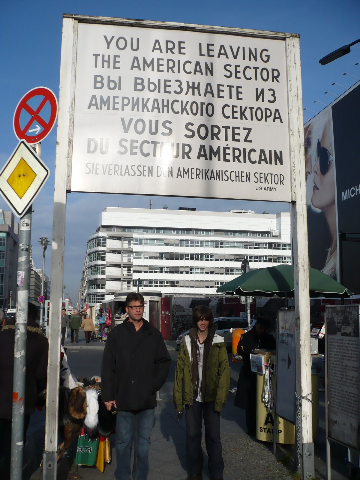 A Year in Europe: Checkpoint Charlie and the Berlin Wall