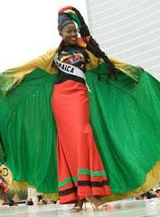traje típico de Jamaica