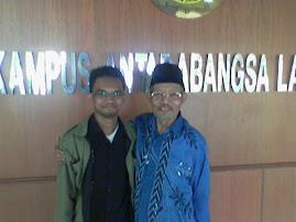with Dr. Tn. Hj. Hashim Hj. Muhammad, The Executive Director E-Media Publication Sdn Bhd