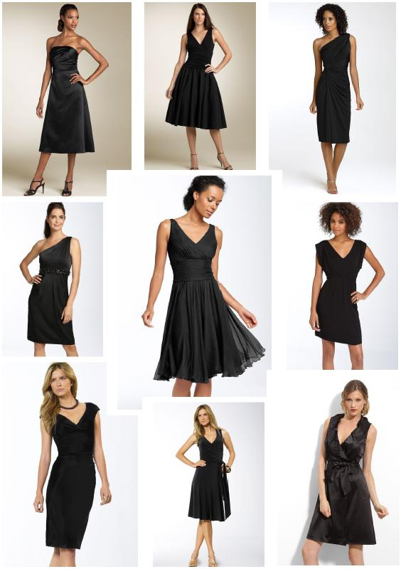 Bridesmaid dresses inspiration 564800 dresses idea for Little black wedding dress