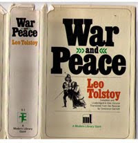 The Kindle Improves On War and Peace!