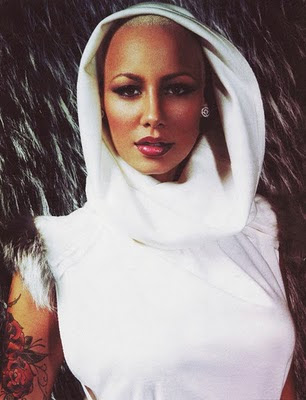 pics of amber rose with hair. 2011 hair. amber rose with