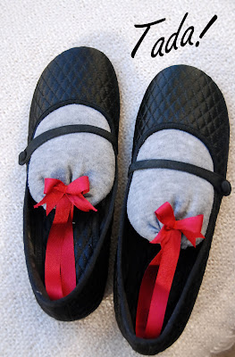blah to TADA!: Take Care of Your Shoes