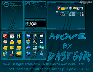 Move by Dastgir s60 theme
