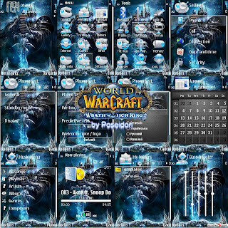 WarCraft By Poseidon,Theme for Nokia s60v3