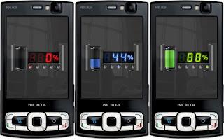 Digital Battery flashlite screensaver by supertonic