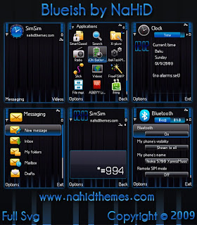 Blueish theme by NaHiD