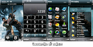 Uncharted 2 by olek21 S60V5 themes