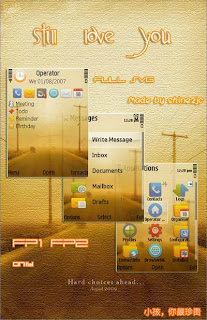free Nokia theme Still Love You by Shinezjc