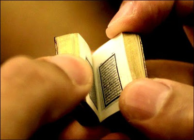SmallestHandwrittenHolyQuranintheWorld9 - World's Smallest  Holy Quran