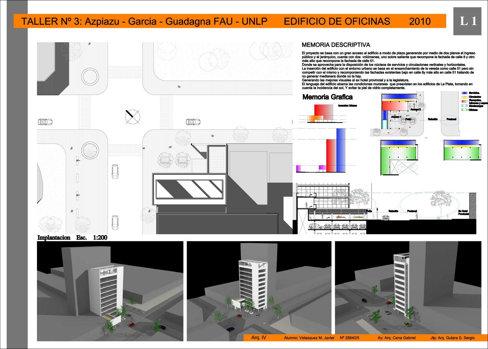 Vivienda en altura vivienda en red 2010 edificio de for Edificio oficinas