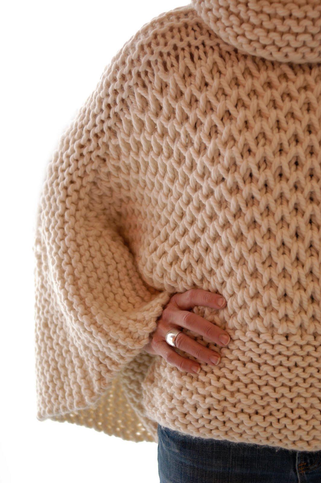 Knit 1 LA: Misti Brioche Honeycomb Sweater