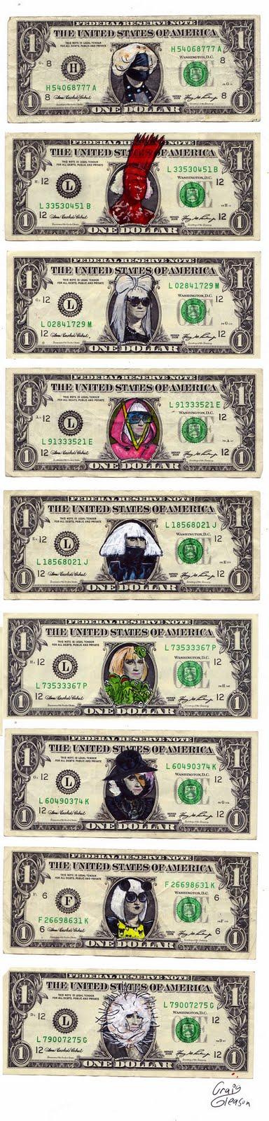 dollar bill artist. dollar bill artist.
