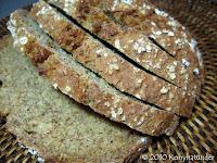 Irish brown soda bread sliced