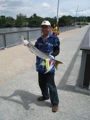 Another Barracuda Caught At Woodland Jetty Fishing Hotspots was created to share with those who are interested in fishing on tips and type of fishes caught around Woodland Jetty Fishing Hotspots.