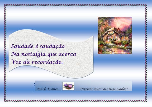 Saudade I Haicu+1