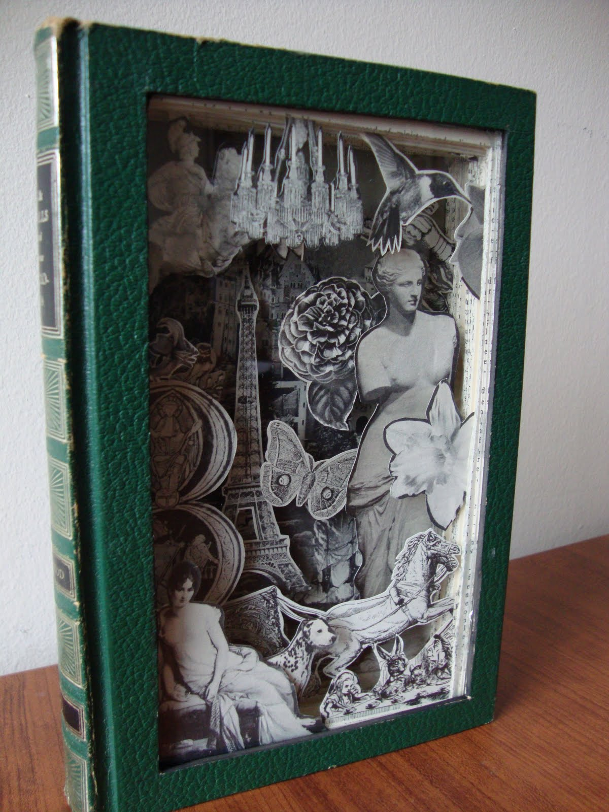 Rose book carving hokey stokes