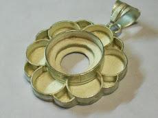 colgante flor III