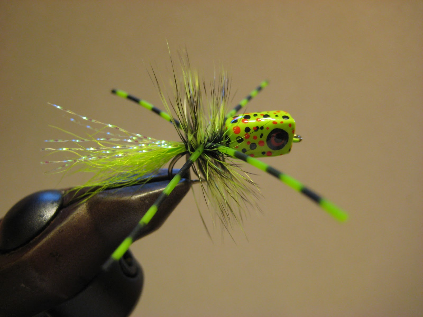 Fly fishing tying obsessed more balsa wood poppers for Fly fishing poppers