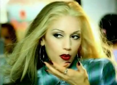 gwen stefani hair color. gwen stefani hair commercial.