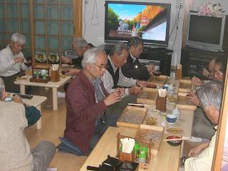 千葉県の二八会のメンバー様 2010.11.02