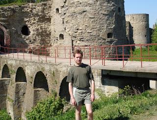 Разводной мост в Копорской крепости
