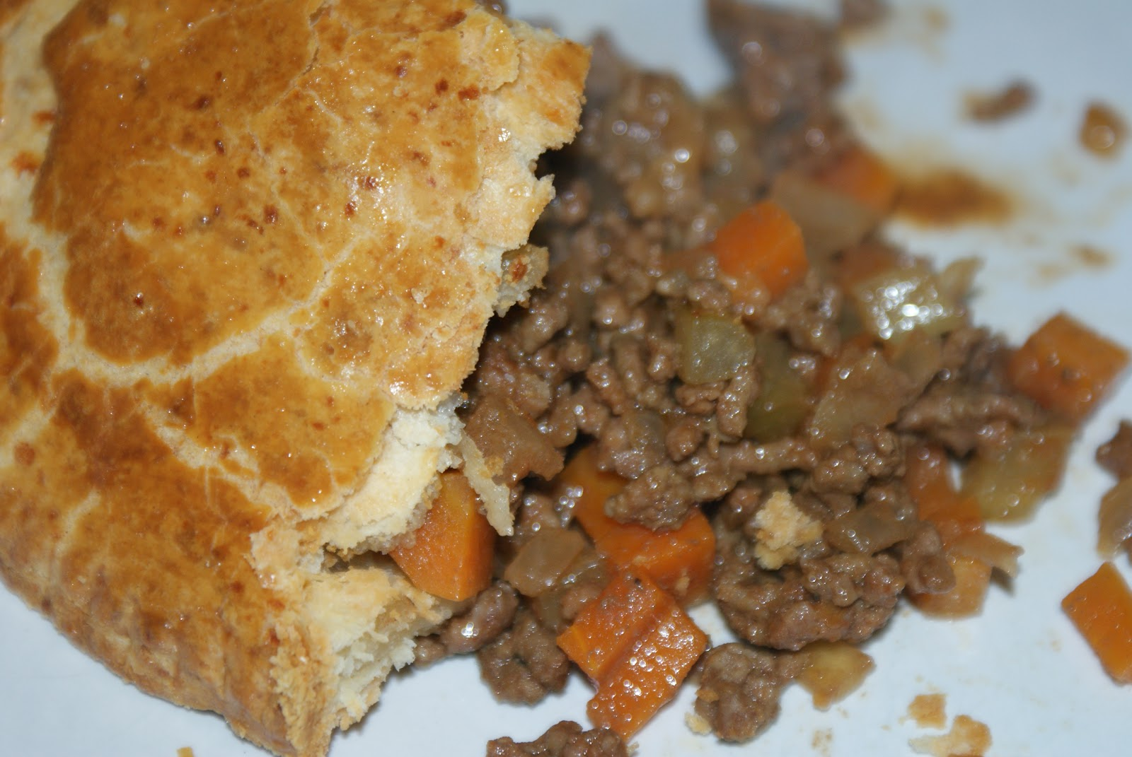 Minced beef pie with cheesy crust baking recipes and for English mincemeat recipe