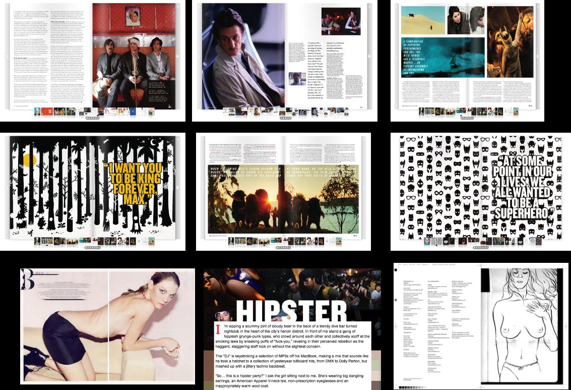 Graphic Design Advanced Logbook Magazine Research