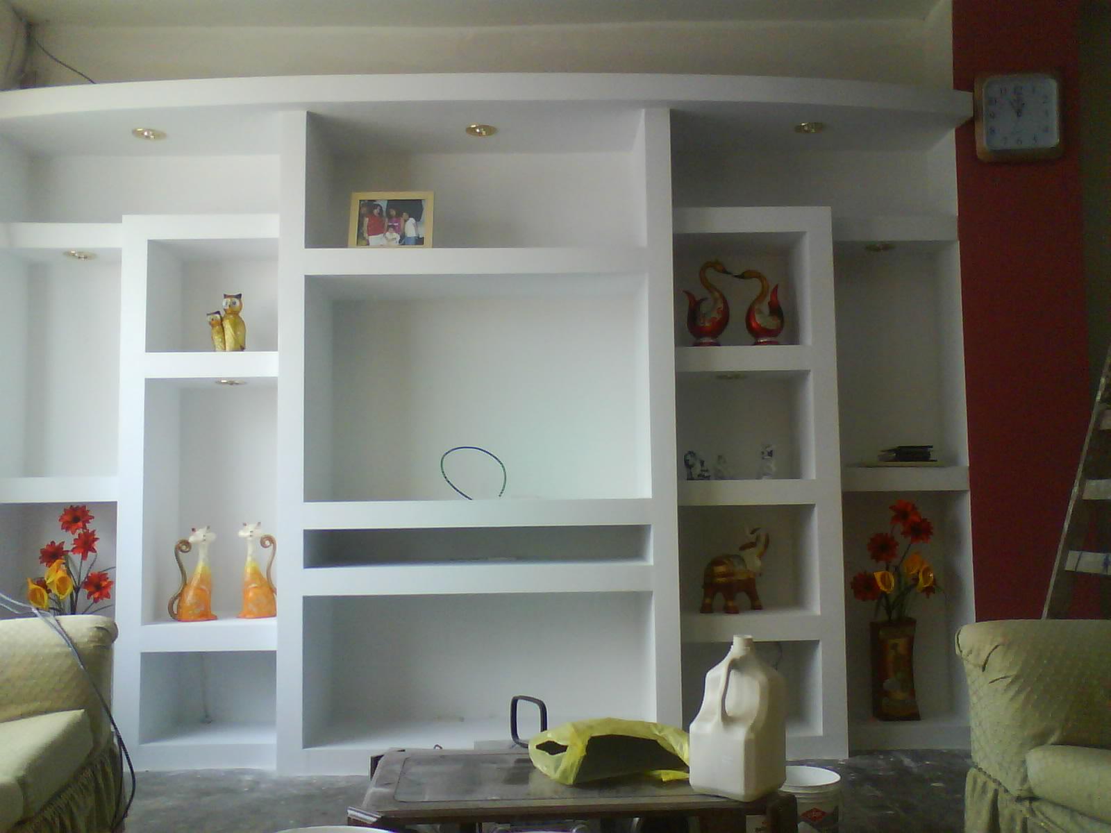 Sistema drywall muebles de television - Muebles de tv para dormitorios ...