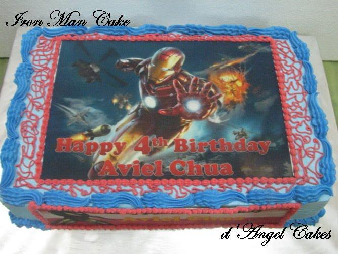Dangel Cakes Iron Man Cake