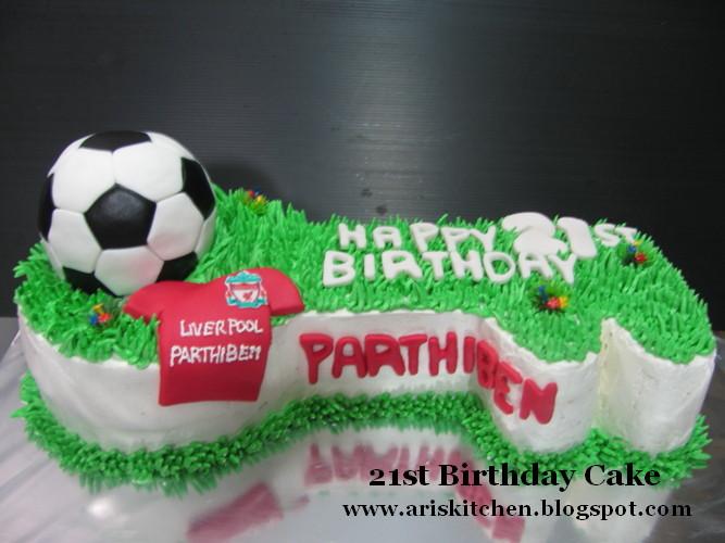 Dangel Cakes Soccer Ball Liver Pool Theme