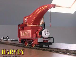 The Thomas Modeller Harvey The Crane Engine OO Gauge