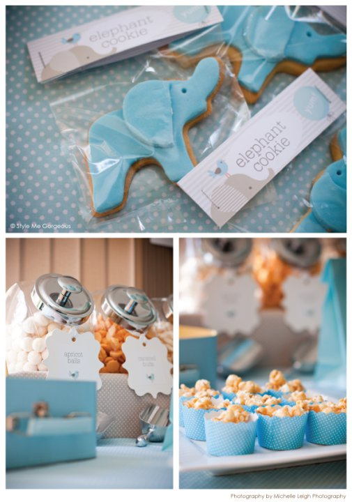 baby boy baby shower inspiration