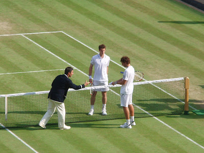 Wimbledon+2009+8+Andy+Murray+Ernests+Gulbis