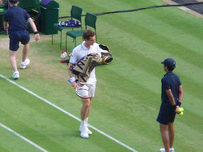Wimbledon+2009+10+Andy+Murray+Ernests+Gulbis