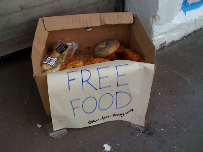 Free+food+London