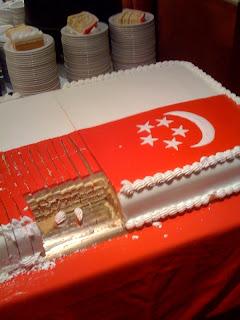 Singapore+National+Day+London+celebration+cake