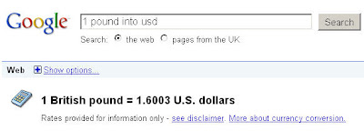 Google+Currency+conversion+tool+Singaporean+in+London