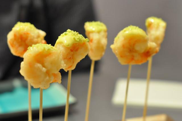 Sushi+Ga+Ga+review+Lisle+Street+wasabi+prawns