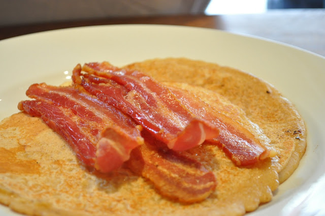 The+Ambassador+review+Exmouth+Market+pancake+and+bacon