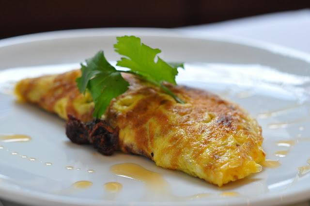 The+Modern+Pantry+review+Farringdon+prawn+ommelette