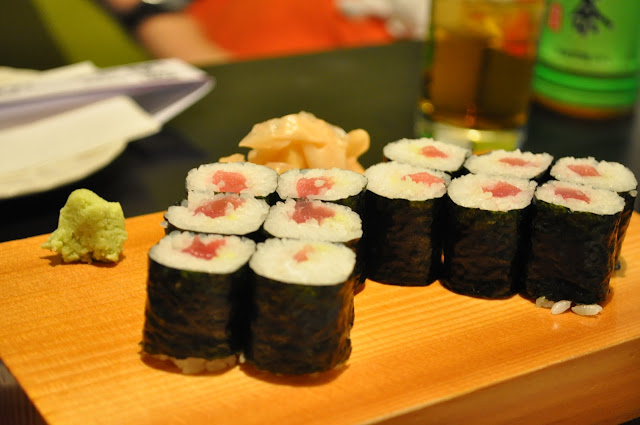 Edokko+review+Holborn+Japanese+restaurant+food+tuna+roll