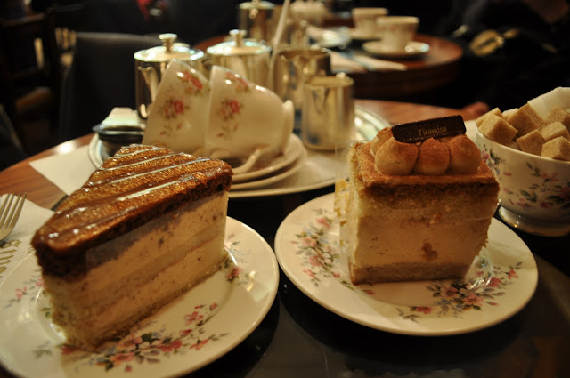 Louis+Patisserie+review+Hampstead+Heath+Street+Coffee+and+Tea+Room+cakes
