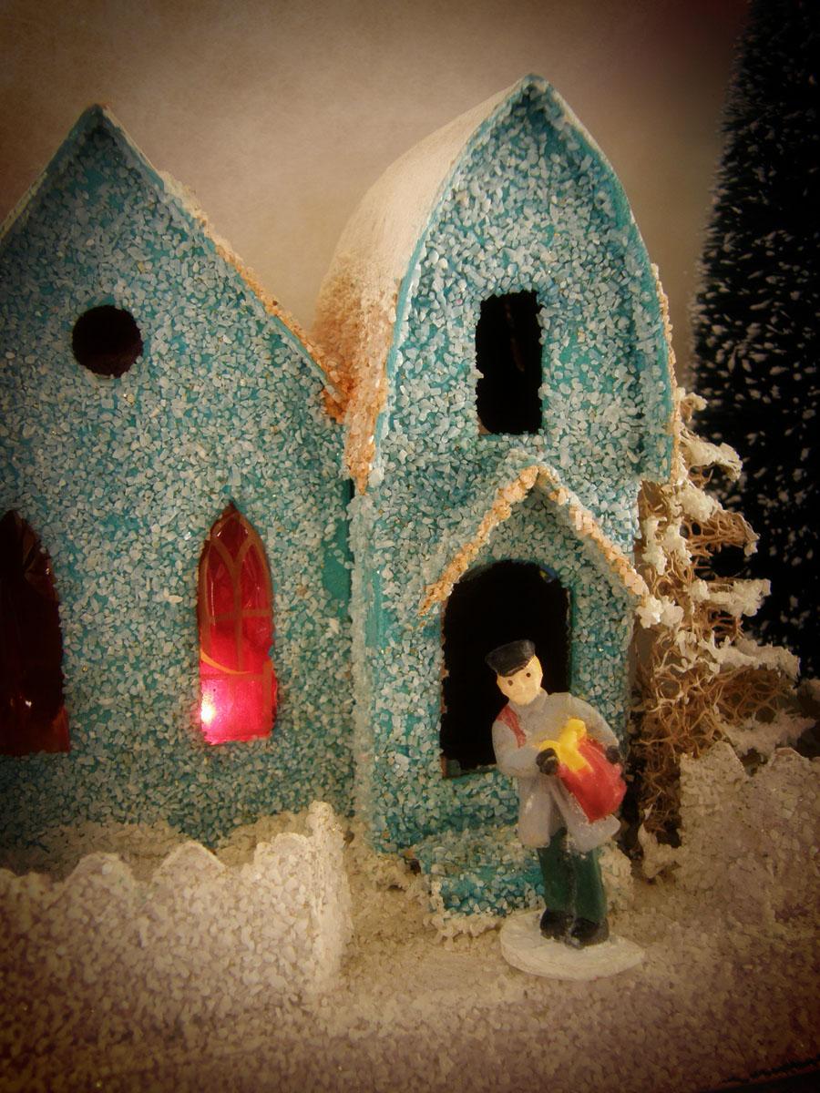 Amongst The Oaks Putz Houses Glitter Houses